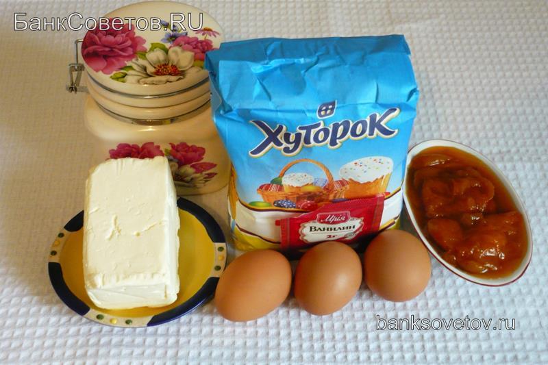 Ингредиенты для тертого печенья