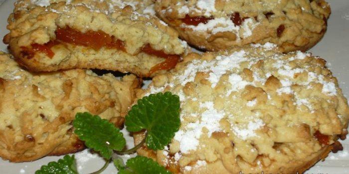 Тертое печенье с вареньем рецепт