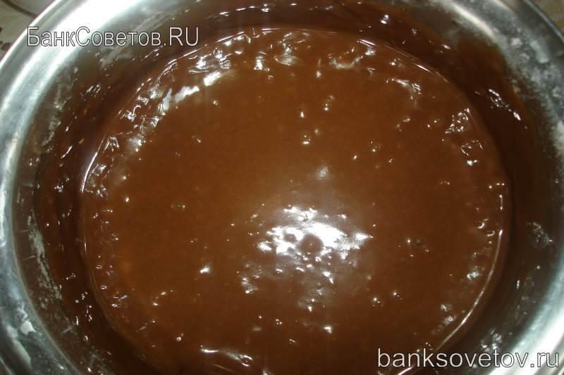 тесто для шоколадных маффинов фото