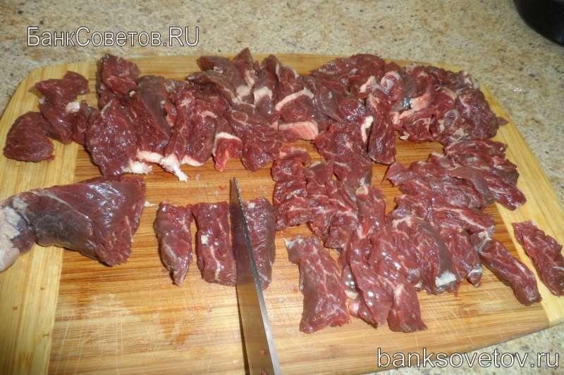 говядина для азу по-татарски