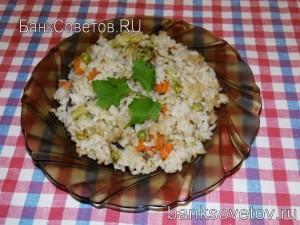Рис к обеду